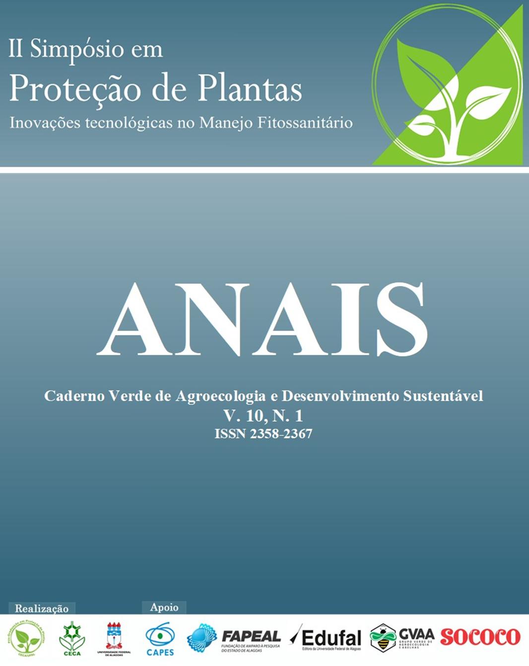 II SIMPÓSIO EM PROTEÇÃO DE PLANTAS