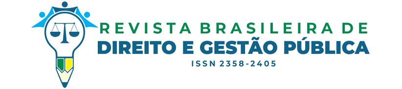 Revista Brasileira de Direito e Gestão Pública